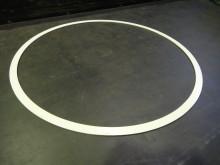 溶射用治具シリコンゴム焼付品1