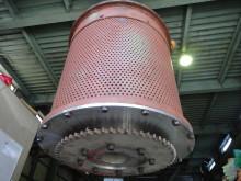 円筒バレル研磨機ゴムライニング1